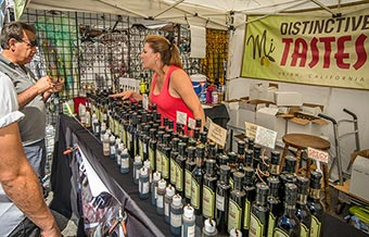 artisan vinegars and olive oils