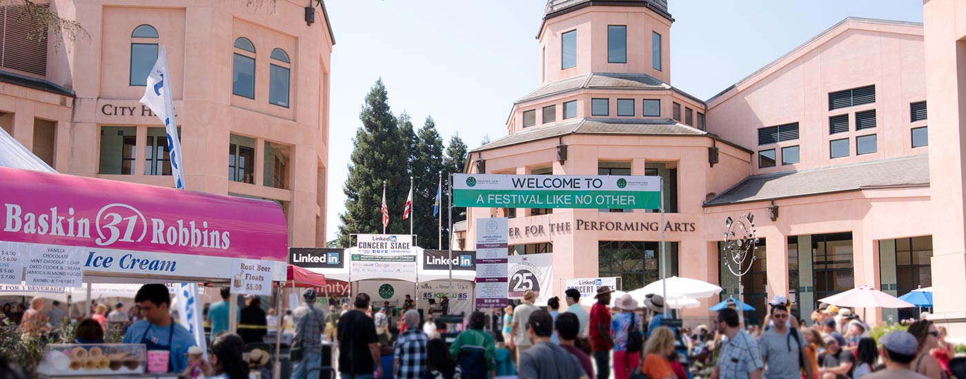 Mountain View Art & Wine Festival has been voted the Best Festival in the South Bay