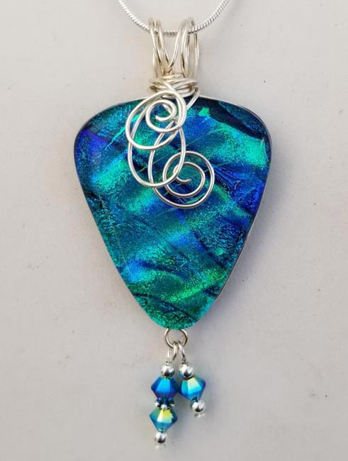 Joan and Dan Swartz art glass jewelry